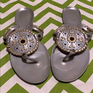 Women's Jack Rogers jelly sandals size 8
